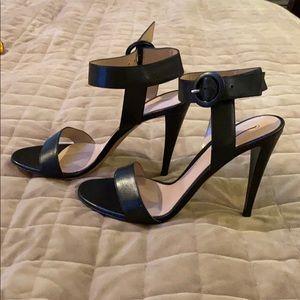 Gianvito Rossi black sandal size 40 1/2